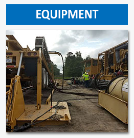 Drilltech has all the equipment necessary for any directional drilling project