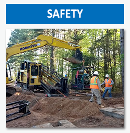 Drilltech is concerned about safety for our employees, clients, and the general public.